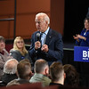 RYAN HUTTON/ Staff photo<br /> Former Vice President and presidential candidate Joe Biden speaks to a crowd at the Tupelo Music Hall in Derry, NH during a campaign stop on Monday.