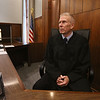 MIKE SPRINGER/Staff photo<br /> First Justice Stephen Abany looks out from the bench Monday at Haverhill District Court. Abany is retiring Dec. 17 after 14 years on the Haverhill bench.<br /> 12/9/2019