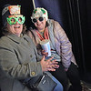 TIM JEAN/Staff photo <br /> <br /> Lily Kiernan, left, and Alyviah Richards, both of Haverhill sit in a Photo Booth for a photo outside of the Haverhill Bank during the annual Christmas Stroll in downtown Haverhill. The event is sponsored by the Haverhill Chamber of Commerce.  12/6/19