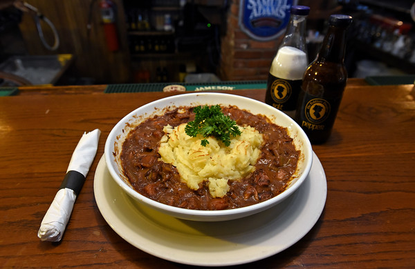 RYAN HUTTON/ Staff photo<br /> The beef stew made with Guinness is a signature dish at the Peddler's Daughter.