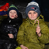 CARL RUSSO/Staff photo. Keith Philbrick, 6 and his brother Bryson Watson, 8 relax with their candy canes. <br /> <br /> It is rumored that Santa is about to hide hundreds of candy canes around the Y! Grab your flashlight and join us as we search for hidden candy canes. The Londonderry YMCA held its second Candy Cane Hunt Friday night.  2/13/2019