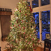 TIM JEAN/Staff photo <br /> <br /> The twelve-foot tall fully decorated Christmas tree in the Dailey home in Salem, NH. Salem residents can drop of Christmas trees at the transfer station on Shannon Road.   12/31/19