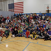 TIM JEAN/Staff photo <br /> <br /> After receiving gift cards from Tuscan Brands owner Joe Faro and his family, members of the Boys and Girls Club of Greater Salem gather for a group photo.   12/18/19