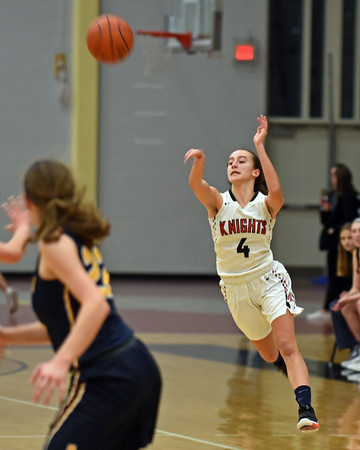RYAN HUTTON/ Staff photo<br /> North Andover's Hannah Martin fires a long pass to a teammate during the second period of Friday's home game against Andover.