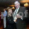 CARL RUSSO/Staff photo. STEPPING OUT: Eileen & Larry Giordano of Methuen. Long time St. Lucy Parishioners and  co-chairpersons of the dinner dance.  <br /> <br /> St. Lucy's Parish in Methuen celebrated its 60th. Anniversary with a dinner and dance on October 20, 2018. The celebration began with a 4 pm mass at St. Lucy's church then dinner and dancing at Michael's Function Hall in Haverhill. 10/20/2018
