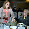 CARL RUSSO/Staff photo. STEPPING OUT: Caroline Glynn serves Italian wedding soup to June D'Urso. Both are from Methuen.  <br /> <br /> St. Lucy's Parish in Methuen celebrated its 60th. Anniversary with a dinner and dance on October 20, 2018. The celebration began with a 4 pm mass at St. Lucy's church then dinner and dancing at Michael's Function Hall in Haverhill.  <br /> <br /> Committee members for the 60th. Anniversary are: Cathy Rubino, Elaine Frangente, Kathy Burke, Kerin Mcloughlin, Bob Johnson, Ann Louise Glynn, Annette Autiello, Carol Glynn, Paula wood, Pat LaPointe, Bob Brouder, Kathy Lynch, Angela Rizzo, Bonnie Bonanno, Kevin Fitzgerald, Linda Babcock and Leslie O'Malley. 10/20/2018
