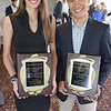 TIM JEAN/Staff photo<br /> <br /> Female and Male Student-Athlete of the Year Award winners Sarah Pahellaro, Jason Denoncourt pose for a photo during the Moynihan Lumber Merrimack Valley student-athlete of the year awards luncheon held at the Haverhill Country Club.     6/6/19