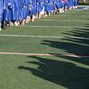 AMANDA SABGA/Staff photo<br /> <br /> The sun shines down on graduates during Methuen High School's 2019 graduation ceremony on Nicholson Stadium.<br /> <br /> 6/7/19