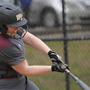 TIM JEAN/Staff photo<br /> <br /> Whittier's Kyleigh Jo Campbell drives the ball for a hit against Andover during the Methuen Invitational Softball Tournament. Andover won 3-2.      5/24/19