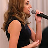 MIKE SPRINGER/Staff photo<br /> Student Bella Perrotta sings Tuesday during the Methuen Exchange Club's 25th Recognition Dinner and Awards Night at the Merrimack Valley Golf Club.<br /> 11/19/2019