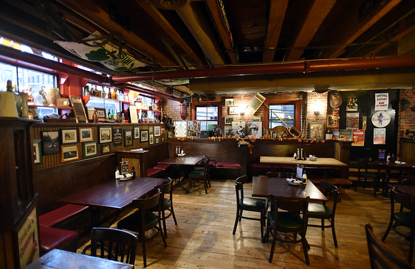 RYAN HUTTON/ Staff photo<br /> The main dining area of the Peddler's Daughter.