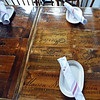 RYAN HUTTON/ Staff photo<br /> Tables at the Shoe City Urban Bistro, located above the Peddler's Daughter.