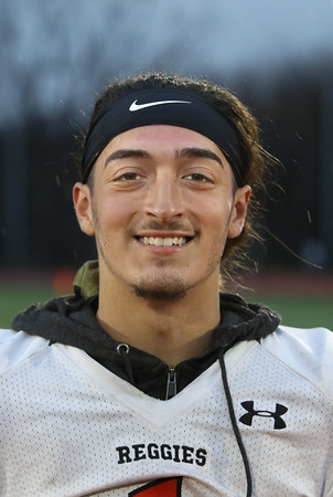 MIKE SPRINGER/Staff photo<br /> Quarterback Shamil Diaz of the Greater Lawrence Tech varsity football team.<br /> 11/20/2019