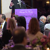 TIM JEAN/Staff photo <br /> <br /> Jeff Hassel, Lazarus House Ministries Executive Director speaks during the Lazarus House annual ''Sharing Our Bounty'' Gala held at the Andover Country Club.  11/16/19