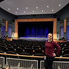 RYAN HUTTON/ Staff photo<br /> Molly Derrig, technical director of the Seifert Performing Arts Center at Salem High School, inside the center on Tuesday.