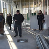 TIM JEAN/Staff photo <br /> <br /> Denis Boucher the new NECC Culinary Arts and Hospitality Program Manager, talks about the restaurant space being built during a walk though of the construction site of the new Haverhill Heights building in downtown Haverhill. 11/13/19