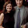TIM JEAN/Staff photo <br /> <br /> Sonja and David Formato, of Boston gather during the cocktail hour during Lazarus House annual ''Sharing Our Bounty'' Gala held at the Andover Country Club.  11/16/19