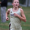 MIKE SPRINGER/Staff photo<br /> Finleigh Simonds of Haverhill competes in a cross country meet Wednesday with Methuen and Tewksbury at Methuen. <br /> 10/16/2019