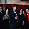 CARL RUSSO/Staff photo. Mike Moore, President and COO of Moore Staffing Services in Methuen and Carol Merrow, second from the right, Moore's Administrative Staffing Group Manager accept the Company of the Year award from Tom Connors, President and CEO of American Training in Andover and Tiffany Mottola, left, Director of LARE Institute and Cheryl Watson also of LARE Institute. The institute is a division of American Training.   <br /> <br /> American Training celebrated its 40th Anniversary and presented Ray DiFiore of Methuen with the 2019 Life Matters Award during the 18th Annual Life Matters Awards Gala on October 25 at the Andover Country Club. DiFiore was honored with the Life Matters Award for his dedicated career in public service in Lawrence and Methuen, and his commitment to American Training. <br /> <br /> Several other people and businesses were also honored with awards for Outstanding Partners, Vendor of the Year and Company of the Year. <br /> <br /> American Training is a non-profit organization based in the Merrimack Valley that provides housing, education, training & support services to people with disabilities, youth at risk & adult learners who are looking for a pathway towards a more meaningful life. 10/25/2019
