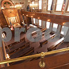 TIM JEAN/Staff photo<br /> <br /> Looking down from the balcony of the Congregation Ansha Sholum on Hampshire Street in Lawrence. The congregation is celebrating its 100 year anniversary this weekend.   10/22/19