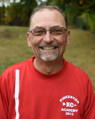 RYAN HUTTON/ Staff photo<br /> Pinkerton Academy cross country coach Mike Clark.