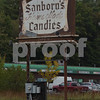 TIM JEAN/Staff photo<br /> <br /> Sanborn's Fine Candies in Plaistow has closed. The land where the business has been for many years was sold and the family plans to open in a new location around Easter.     10/1/19