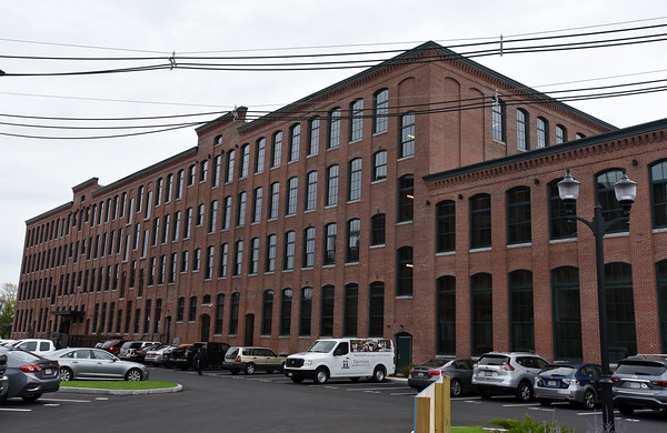 RYAN HUTTON/ Staff photo <br /> The newly renovated Arlington Point apartments on Broadway in Lawrence at the site of the old Van Brodie Mill building.
