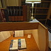 RYAN HUTTON/ Staff photo<br /> Inside the Christian Science Reading Room on Main Street in Andover on Thursday. After being there for more than 30 years, reading room is set to close soon.
