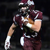 CARL RUSSO/Staff photo Timberlane's Daniel Post looks for running room.  Concord defeated Timberlane 28-14 in Friday night football action. 10/4/2019