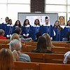 RYAN HUTTON/ Staff photo <br /> The Lawrence High School Girls Choir performs during the Cultural Appreciation Week event on the third floor of Lawrence District Court on Monday which celebrates the diversity of the court.