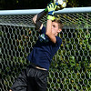 "CARL RUSSO/Staff photo Timberlane senior goal keeper, Dimitri Kakouris. <br /> <br /> This will be the end of an era for Timberlane boys soccer. Seniors Cameron Ross, Dimitri Kakouris, Matt Barney, Shawn Perry, Ryan Boggiatto and Joe Casey are all the youngest siblings of many who have come through both the boys and girls programs at Timberlane. But for their ""last ride"" together, the Owls have started the season an undefeated 5-0-2.  9/27/2019"