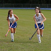 MIKE SPRINGER/Staff photo<br /> Pelham varsity field hockey standouts Madi Robito, left, and Abbey Bevens.<br /> 9/17/2019