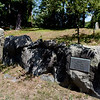 TIM JEAN/Staff photo<br /> <br /> The Old Filler Burying Ground can be seen while walking along the Target Common Landmark Trail. The trail is organized around historic and natural features in Middleton. 7/21/20