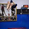 CARL RUSSO/Staff photo The Merrimack Valley Conference Gymnastic League Meet was held Thursday night, February 6th. at A2 Gym and Cheer in Salem NH.  Andover high sophomore, Ksenia Kessler performs her floor routine during the meet.<br /> <br /> Team Score: Chelmsford/Billerica/Tyngsboro 141.45, 2. Central Catholic 139.70, 3. North Andover 138.35, 4. Methuen 137.7, 5. Haverhill 136.85, 6. Andover 132.15, 7. Lowell 130.65, 8. Dracut 130.40, 9. Tewksbury 128.95<br /> 2/6/2020<br /> <br /> <br /> <br /> <br /> <br /> <br /> .