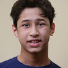 MIKE SPRINGER/Staff photo<br /> Phillips Andover Academy wrestler Arnav Bhakta.<br /> 2/4/2020
