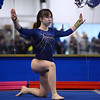 CARL RUSSO/Staff photo The Merrimack Valley Conference Gymnastic League Meet was held Thursday night, February 6th. at A2 Gym and Cheer in Salem NH.  Andover high sophomore, Ksenia Kessler performs her floor routine during the meet.<br /> <br /> Team Score: Chelmsford/Billerica/Tyngsboro 141.45, 2. Central Catholic 139.70, 3. North Andover 138.35, 4. Methuen 137.7, 5. Haverhill 136.85, 6. Andover 132.15, 7. Lowell 130.65, 8. Dracut 130.40, 9. Tewksbury 128.95 2/6/2020