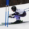 CARL RUSSO/staff photo. Andover's Becca Moderno. Ski teams from Andover, Haverhill and North Andover competed in North Shore Ski League meet on Monday at Bradford Ski. 2/10/2020.