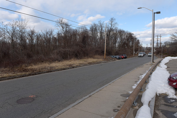 TIM JEAN/Staff photo <br /> <br /> The vacant land between the Bradford train station and the Merrimack River where the City of Haverhill and a developer hope to build high end condominium development.  2/20/20