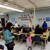 TIM JEAN/Staff photo <br /> <br /> Seventh grade students gave tours to parents and future students during a tiles and tours night at Pelham Memorial School, organized by Pelham ACES. Voters will be asked to pay for renovations at Town Meeting Day on March 10th.     2/12/20