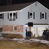 CARL RUSSO/Staff Photo. A fire that started in the kitchen of a house at 3 Candlewood Drive, Andover displaced three people Monday night. No one was injured, according to Andover Fire Chief Michael Mansfield, who estimated the damage at $110,000. 2/24/2020