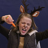 "MIKE SPRINGER/Staff photo<br /> Fifth-grader Jessica Pitcher clowns around as ""Sven""  in the children's version of the Disney musical ""Frozen"" on Thursday at Soule Elementary School in Salem. The play was directed by Rebecca Pacuk and featured more than 40 students from the 4th and 5th grades.<br /> 2/20/2020"