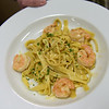 TIM JEAN/Staff photo <br /> <br /> A Shrimp Scampi Fettuccini made for an customer in the student-run Beacon Cafe at North Shore Community College's Middleton campus.    1/30/20