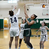 CARL RUSSO/Staff Photo. On February 26, Brooks School defeated St. Mark's 81-25 in girls basketball action during senior night. Katherine Marchesseault, right, of North Andover sails to the hoop. 2/26/2020