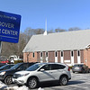 TIM JEAN/Staff photo <br /> <br /> The Andover Senior Center is temporary in the basement of the Ballardvale Church on Clark Road. The town is remolding the entire center. 2/12/20