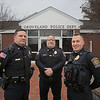 MIKE SPRINGER/Staff photo<br /> Members of the Groveland Police Association, from left: Sgt. Eric Ryan, treasurer, Lt. Dwight McDonald, Vice President, and Detective Joshua Sindoni, president.<br /> 2/25/2020