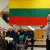CARL RUSSO/Staff photo Operatic singer, Danute Mileika of Boston performs a concert after dinner at the Lithuanian celebration.  <br /> <br /> The Lithuanian American Council and The Knights of Lithuania, Council 78 celebrated its annual Independence celebration on Sunday, February 16. The celebration began with a mass at Corpus Christi Parish at Holy Rosary Church in Lawrence followed by a Lithuanian sausage dinner and entertainment at the parish center.2/16/2020