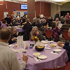 TIM JEAN/Staff photo <br /> <br /> Attendees filled the freshman cafe for the 15th annual Potter's Bowl fundraiser to benefit Community Caregivers of Greater Derry. The event was held at Pinkerton Academy in Derry, NH.     2/1/20