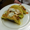 TIM JEAN/Staff photo <br /> <br /> A Chili Lime Fish Taco sandwich made for an customer in the student-run Beacon Cafe at North Shore Community College's Middleton campus.    1/30/20