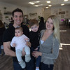 TIM JEAN/Staff photo <br /> <br /> The Nutrition Corner owners Alex and Kelsey Macomber with their children Rylan, 2, and Mia, 6 months old. The Juice and Smoothie bar is on the corner Route 111 and Island Pond Road in Derry.     1/31/20
