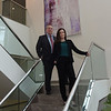 TIM JEAN/Staff photo<br /> <br /> Alyson Basso and Jonathan Lee, Managing Partners and Financial Advisors at the Hayden Financial Group in Middleton.     5/1/20